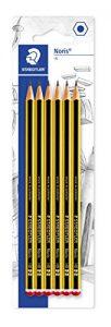Staedtler 120-2BK6DA Noris Bleistift HB 6 Stück auf Blisterkarte