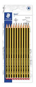 Staedtler Noris 120-2BK10D Bleistift, HB2, 10 Stück auf Blisterkarte