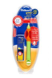 Pelikan 913319 – Bleistift Griffix für Rechtshänder, grün