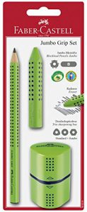 Faber-Castell 580091 – Jumbo Grip Set, 3-teilig, hellgrün