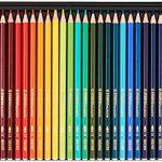 Aquarell-Buntstift – STABILO aquacolor – 36er Metalletui – mit 36 verschiedenen Farben