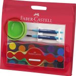 Faber-Castell 201208 – Malkoffer Connector, 4 teilig