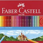 Faber-Castell 115894 – Buntstift hexagonal 60er Metalletui