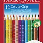 Faber-Castell 112412 – Buntstifte Colour Grip, 12er Kartonetui