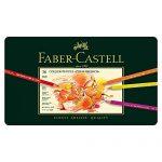 Faber-Castell 110036 – Künstlerfarbstift POLYCHROMOS, 36er Metalletui
