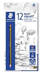 Staedtler Noris Ergosoft 152 Bleistift, 12 Stück