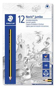 Staedtler Noris 119 Triplus Jumbo Schreiblernstift (Härtegrad HB) 12 Stück