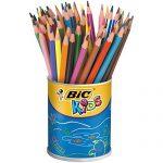 BIC KiDS Evolution Buntstifte, Dose mit 60 Stück