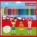 Buntstift – STABILO color – 30er Pack – mit 30 verschiedenen Farben inklusive 4 Neonfarben