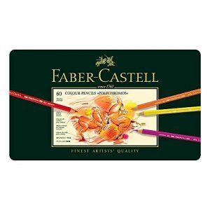 Faber-Castell 110060 – Farbstift Polychromos, 60er Metalletui