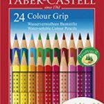 Faber-Castell 112424 – Farbstift Colour Grip Kartonetui 24er